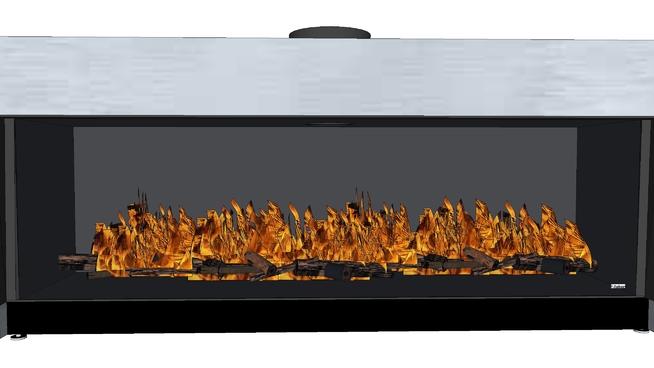 费伯:放松溢价XL(高原) 烤肉 烤炉 壁炉 监视器 显示器