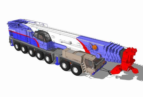 重型机械SU模型