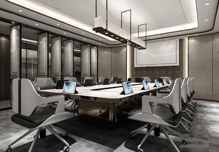 新中式会议室 新中式会议室