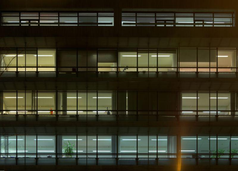外景-夜晚窗户 42