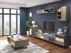 北欧电视柜茶几边柜摆件组合3D模型