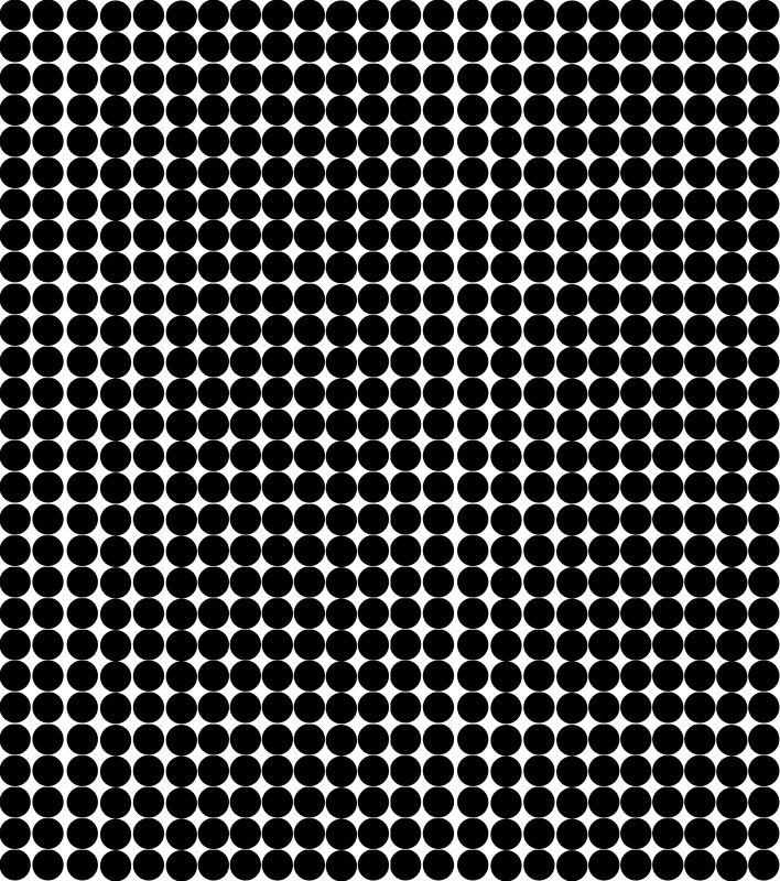 凹凸黑白-黑白凹凸 006