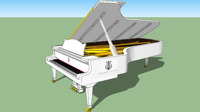 斯坦威父子公司 老鼠夹 机械 三角钢琴