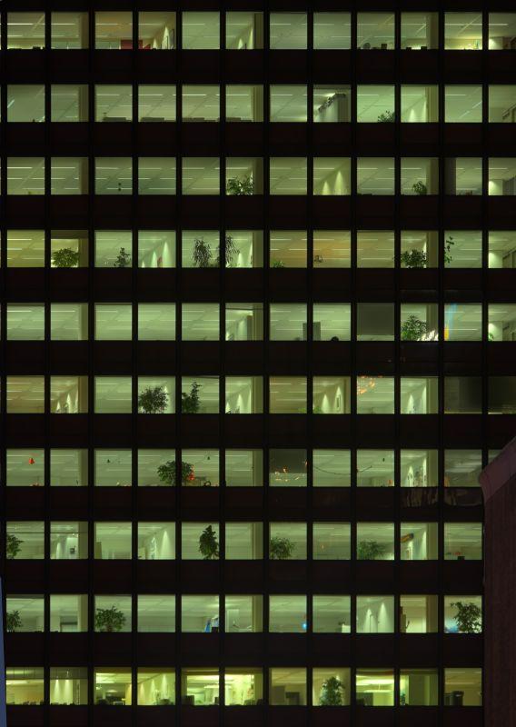 外景-夜晚窗户 14