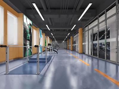 现代康复中心 现代医院 康复中心 运动器材 跑步机