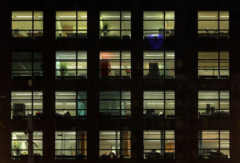外景-夜晚窗户 79