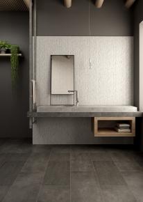现代简约洗手台浴镜组合3D模型