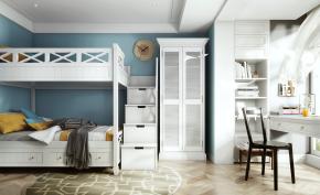 北欧小孩房卧室3D模型
