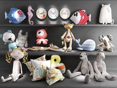 现代玩具公仔 现代玩具 公仔 布偶 抱枕