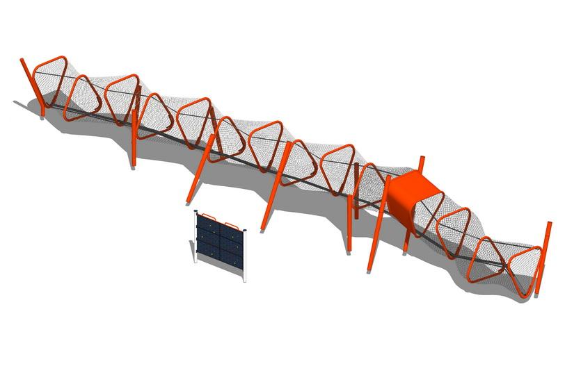 儿童活动器材SU模型