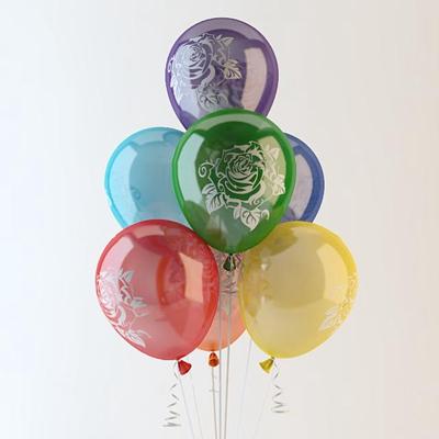现代气球玩具3D模型