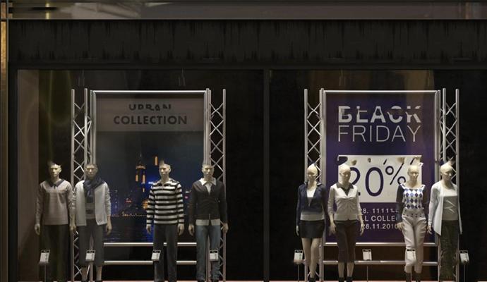 现代商场服装店模特3D模型【ID:57196012】