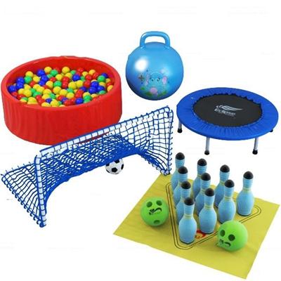 现代儿童海洋球游乐玩具3D模型