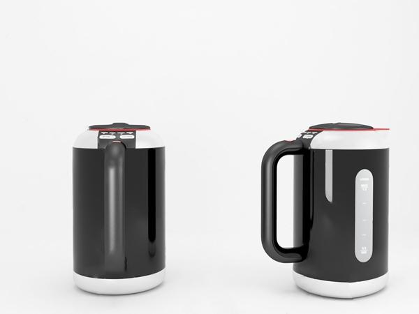 现代智能热水壶3d模型