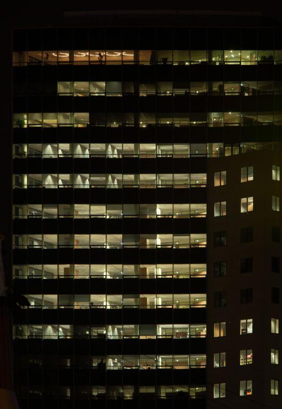 外景-夜晚窗户 54