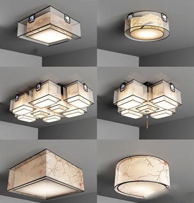 新中式吊燈 新中式吊燈 吸頂燈