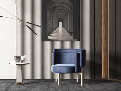 意大利 Lounge 现代休闲椅