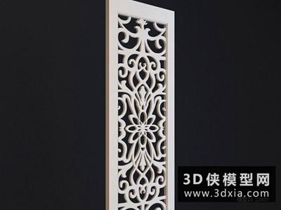 现代雕花板