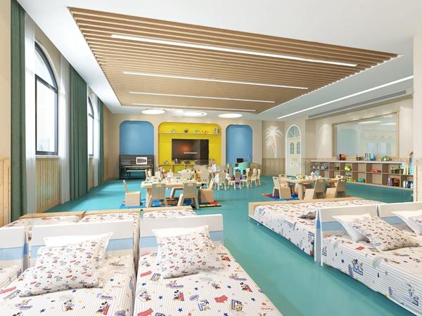 现代幼儿园教室3d模型