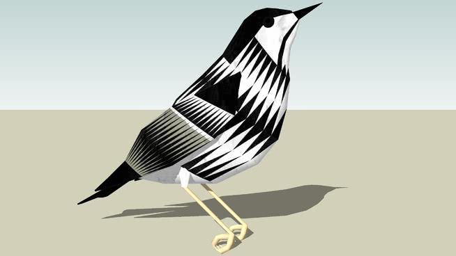 白颊林莺 鸟 喜鹊 动物