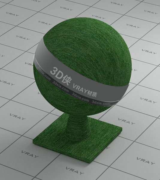 绿色墙布Vray材质下载