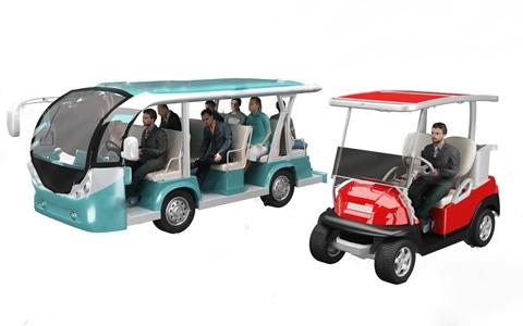 现代观光车 现代其他器材