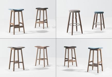 现代实木吧椅 现代吧椅 实木吧椅