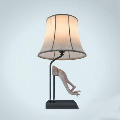 新中式米色陶艺台灯