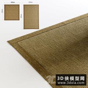 中式编制地毯