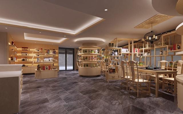 中式茶叶店3D模型