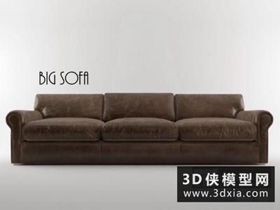 欧式皮沙发