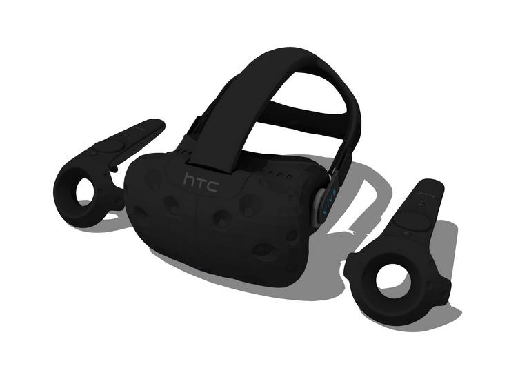 VR眼镜SU模型
