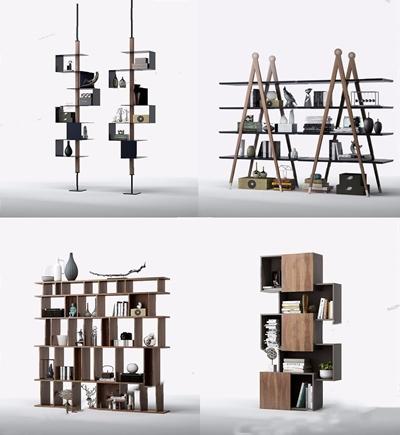 意大利 卡泰兰 cattelan现代书架组合 现代装饰架 书架 书 饰品 摆件 盆栽 意大利 cattelan 卡泰兰