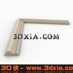 欧式构件-角线3D模型