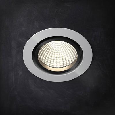 現代都市簡約圓盤式射燈8純色 燈飾 燈泡 亞克力 射燈 簡約 金屬 照明 燈具 吸頂
