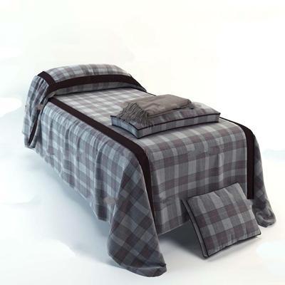 现代单人床美容院按摩床3D模型