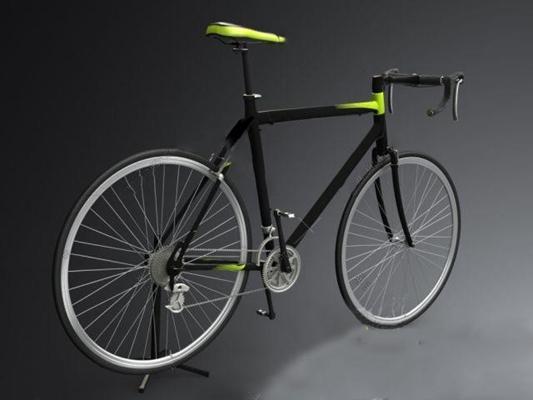 自行� 3D模型