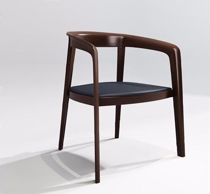 新中式餐椅-P 新中式休闲椅 单椅 餐椅 现代椅子
