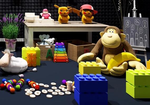 玩具组合 玩具 猴子 皮卡丘
