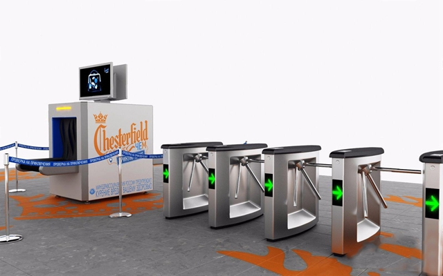 地铁安检 现代其他器材 安检 闸门