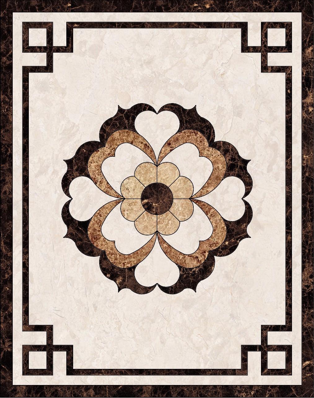 中式地面瓷砖