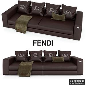 现代皮沙发