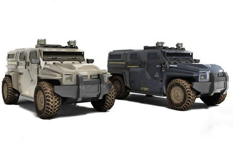 现代防爆车 现代其他器材 防爆车 装甲车