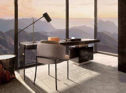 意大利Minotti品牌 现代书桌椅3d模型
