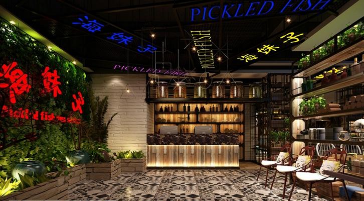 现代收银台 现代长方形木艺酒柜