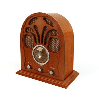 棕色收音机