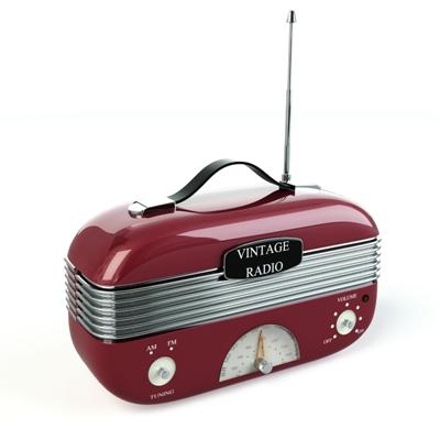 红色收音机
