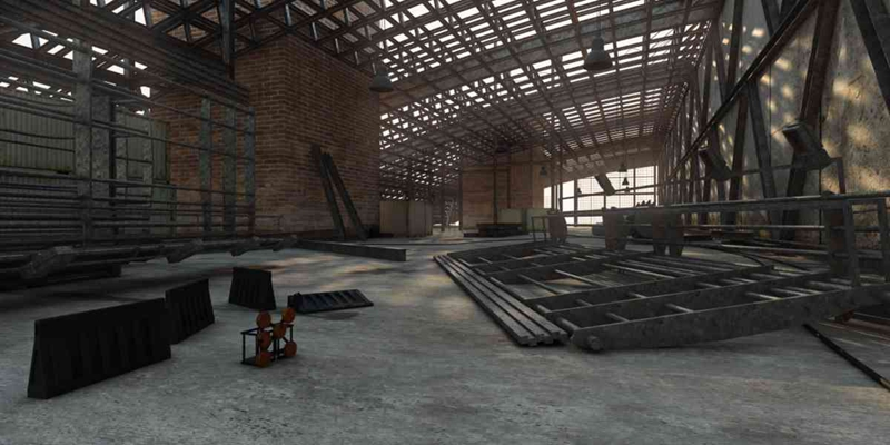 工业风仓库