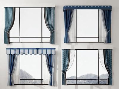 现代窗帘 现代窗帘布艺