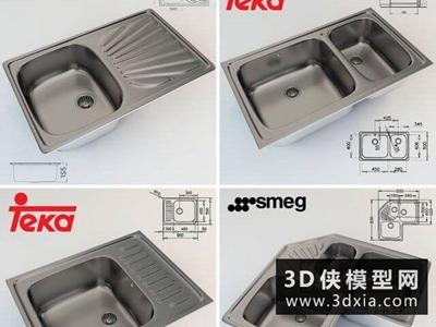 现代金属洗菜盆